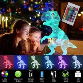 3D Dinosaur Light
