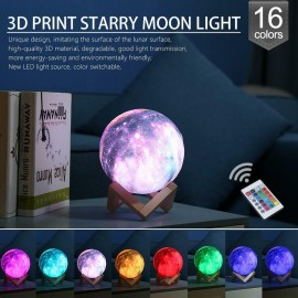 3D Colour Changing Galaxy Light