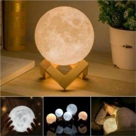 3D LED Luna Night Light