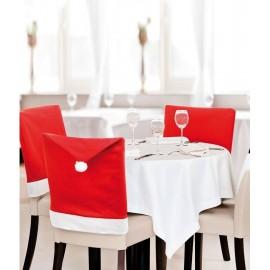 4 x Santa Hat Chair Covers
