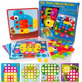 Colour Button Art Set