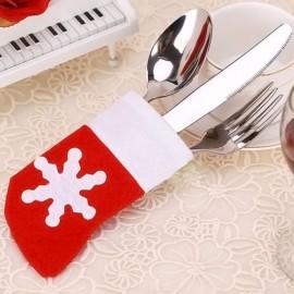 4 x Mini Stocking Cutlery Holders