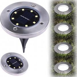 8LED Solar Powered Disc Light