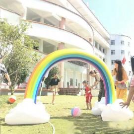 Giant Rainbow Sprinkler